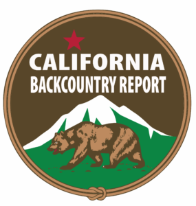 California Backcountry Report Logo for snow and avalanche conditions